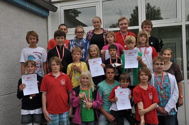 Vereinsmeister 2012